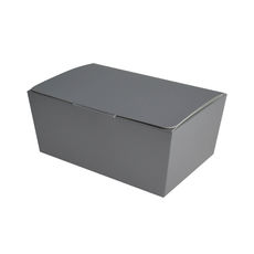 NOW $0.93ea -100 x Sweets Box Medium- Matt Silver