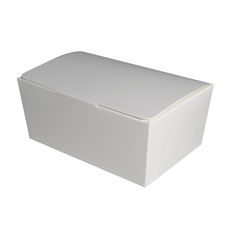 Sweets & Cake Slice Box 5 - Large - White Gloss
