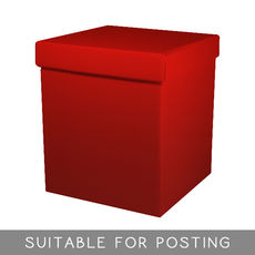 Tall Gift Box - Gloss Red
