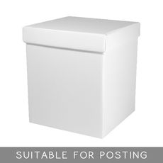 Tall Gift Box - Gloss White