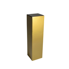 Single Wine Box - Gloss Gold