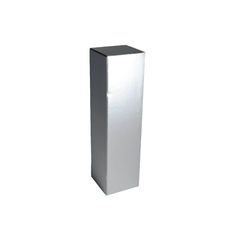 Single Wine Box - Gloss Silver