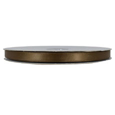 Satin Ribbon (10mm x 92metres) - Chocolate