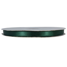 Satin Ribbon (10mm x 92metres) - Dark Green