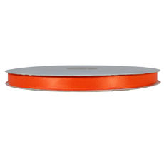 Satin Ribbon (10mm x 92metres) - Orange