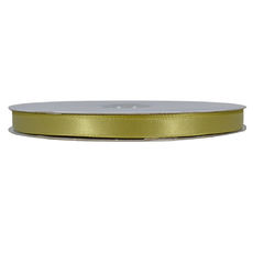 Satin Ribbon (10mm x 92metres) - Willow Green