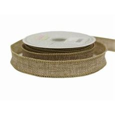 Natural Woven Ribbon 22mm x 9metres (temp out of stock until January)