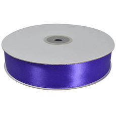 Satin Ribbon (25mm x 45metres) - Purple