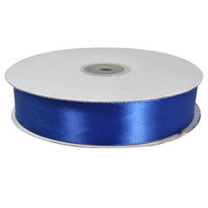 Satin Ribbon (25mm x 45metres) - Royal Blue