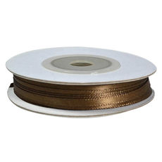 Satin Ribbon (3mm x 22metres) - Chocolate Gift Wrapping & Decoration