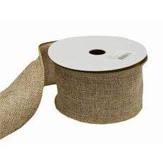 Natural Woven Ribbon 63mm x 9metres