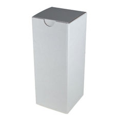 Candle Box 120/220mm - White Cardboard