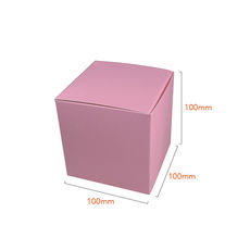 One Piece Cube Box 100mm - Matt Pink