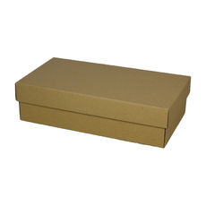 Double Wine Pack Gift Box  - Kraft Brown
