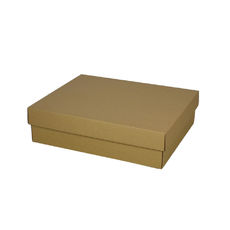 Triple Wine Pack Gift Box  - Kraft Brown