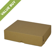 Cake Box 11 x 7 x 3.5 inches - Kraft Brown