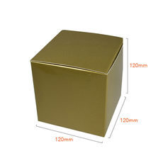 One Piece Cube Box 120mm - Gloss Gold