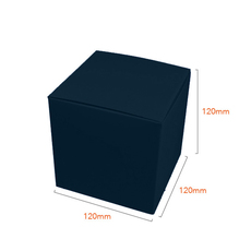 One Piece Cube Box 120mm - Gloss Navy Blue