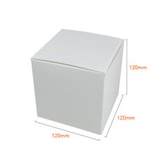 One Piece Cube Box 120mm - Gloss White