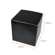 One Piece Cube Box 120mm - Matt Black