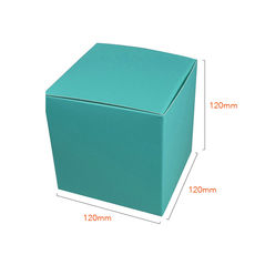 One Piece Cube Box 120mm - Matt Blue