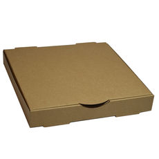Premium Pizza Box 11 Inch One Piece - Kraft Brown