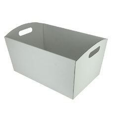 Extra Large Hamper Tray Double Sided Kraft White