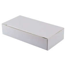 Small Keyring Box - Smooth White