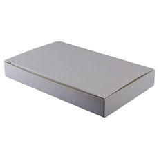 Large Keyring Box - Smooth White
