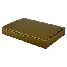 Large Keyring Box - Gloss Gold