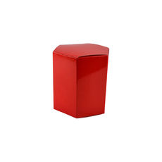 Hexagon Tiny - Gloss Red