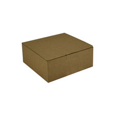 One Piece Postage & Gift Box 18838 -Kraft Brown