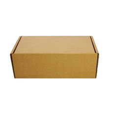 One Piece Postage Box 4101 - Kraft Brown
