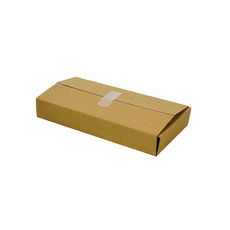 One Piece Postage Box 4764 - Kraft Brown