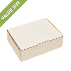 A5 Postage Box White (Now made from 100% Recycled Cardboard)