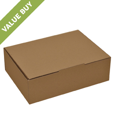 A4 Postage Box Brown