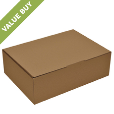 Large Postage Box Brown