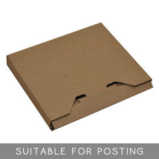 WAS $3.63 - NOW $1.81 - 235 x CD Postage Box Brown