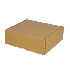 One Piece Postage & Gift Box 5198 - Kraft Brown