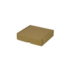 One Piece Postage & Gift Box 5316 - Kraft Brown