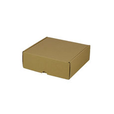One Piece Postage & Gift Box 5317 - Kraft Brown