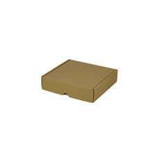 One Piece Postage & Gift Box 5320 - Kraft Brown