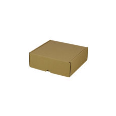 One Piece Postage & Gift Box 5321 -Kraft Brown