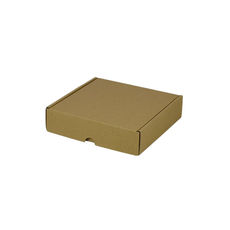 One Piece Postage & Gift Box 5322 - Kraft Brown