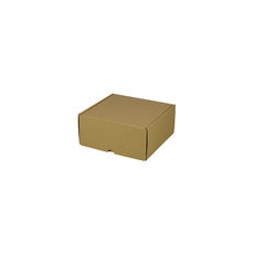 One Piece Postage & Gift Box 5325 - Kraft Brown
