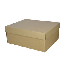 Boot Box - Kraft Brown
