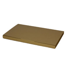 Book Box Twist Mailer 4 - Kraft Brown