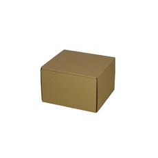 One Piece Postage & Gift Box 6798 -Kraft Brown
