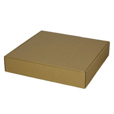 One Piece Postage & Gift Box 6799 -Kraft Brown
