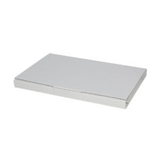 Book Box Twist Mailer 6 - Kraft White